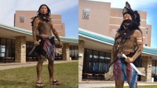 ツキノワグマ 毛皮 戦闘民族衣装